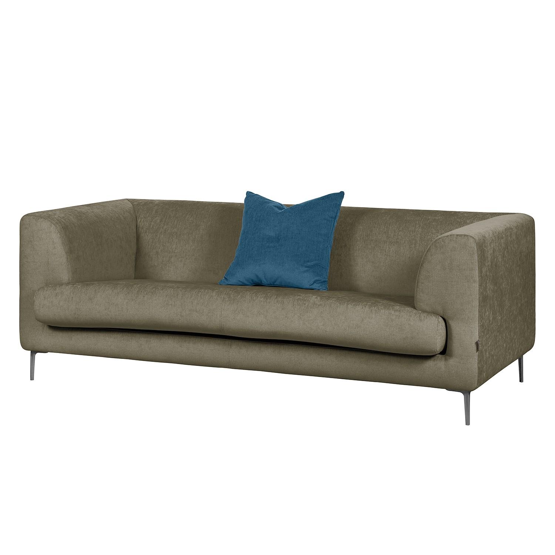 Sofa Sombret (2,5-Sitzer) Webstoff - Taupe