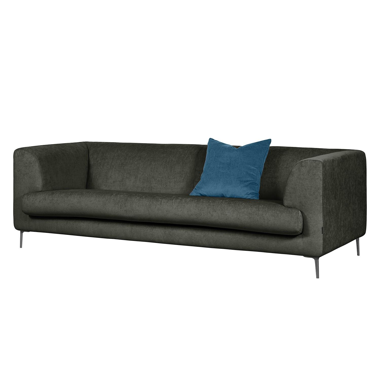 Sofa sombret 3 sitzer webstoff anthrazit g nstig for Sofa anthrazit