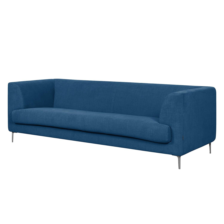 Sofa Sombret (3-Sitzer) Webstoff - Blau