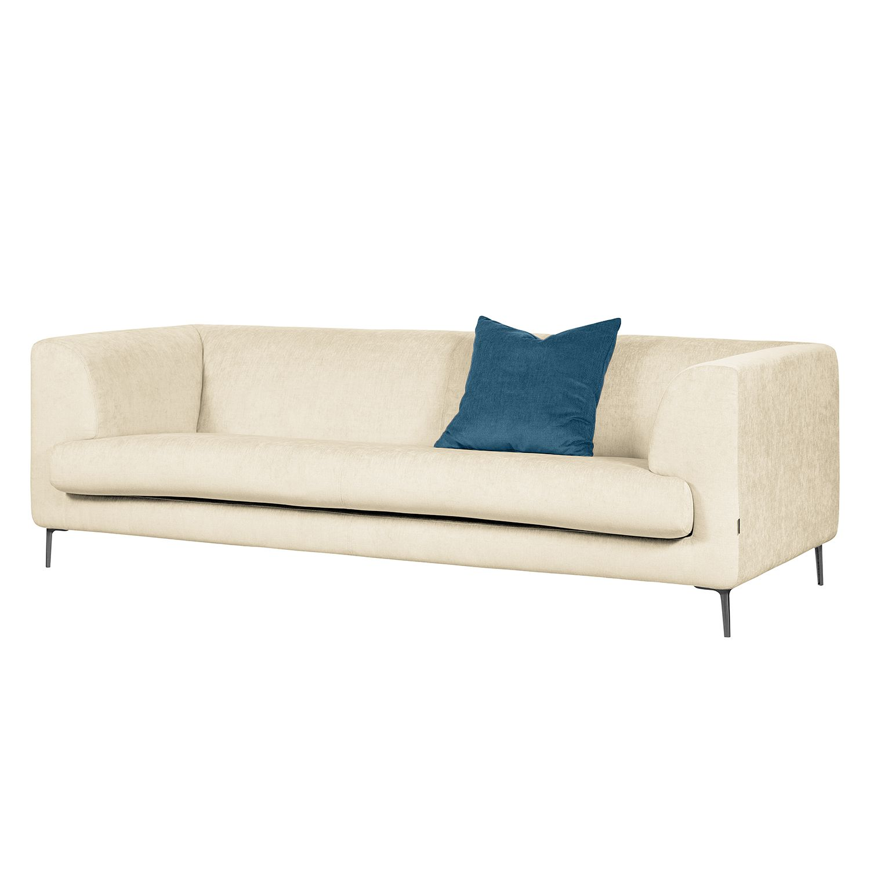 Sofa Sombret (3-Sitzer) Webstoff - Creme