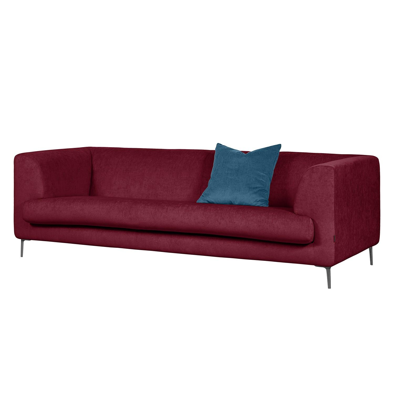 Sofa Sombret (3-Sitzer) - Webstoff - Pflaume
