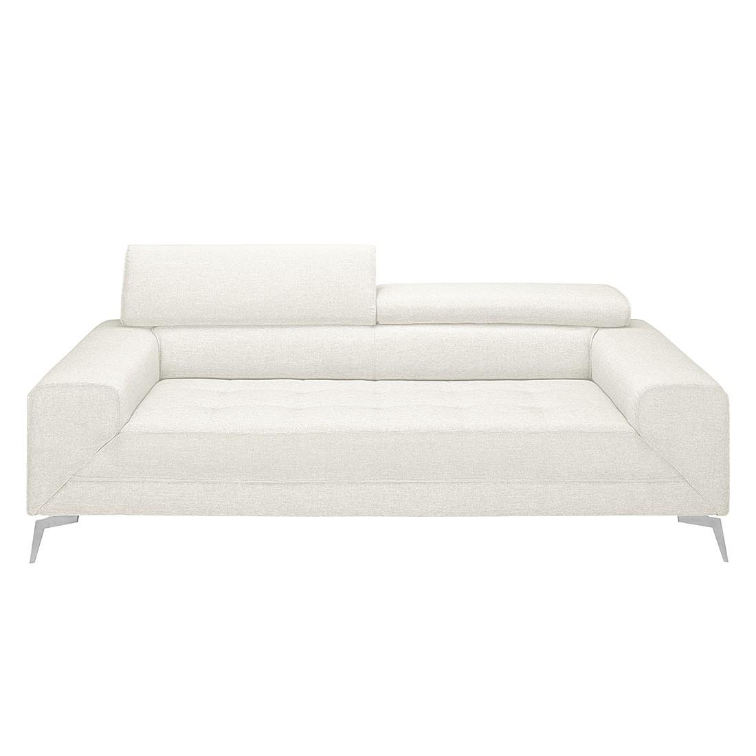 Canapé Walden (3 places) - Textile - Blanc perlé, loftscape