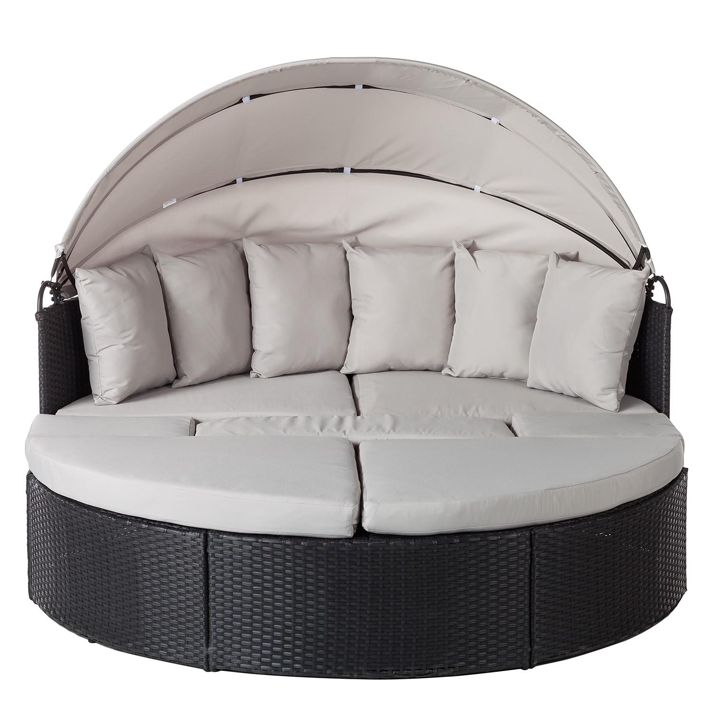 sonneninsel grau affordable perfekt garten lounge insel amazon de venus lounge sonneninsel sofa. Black Bedroom Furniture Sets. Home Design Ideas