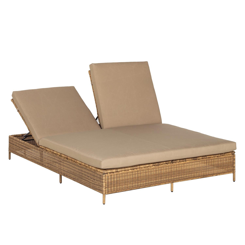 sonnenliege calla millor lloyd loom braun beige chateau garden g nstig online kaufen. Black Bedroom Furniture Sets. Home Design Ideas