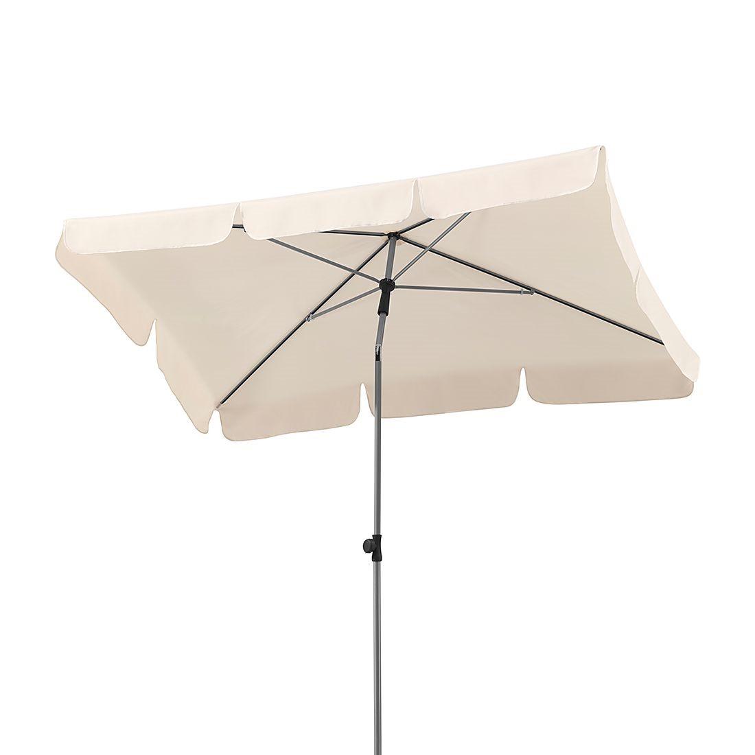 Sonnenschirm Micco III - Stahl/Polyester - Silber/Natur, Schneider Schirme