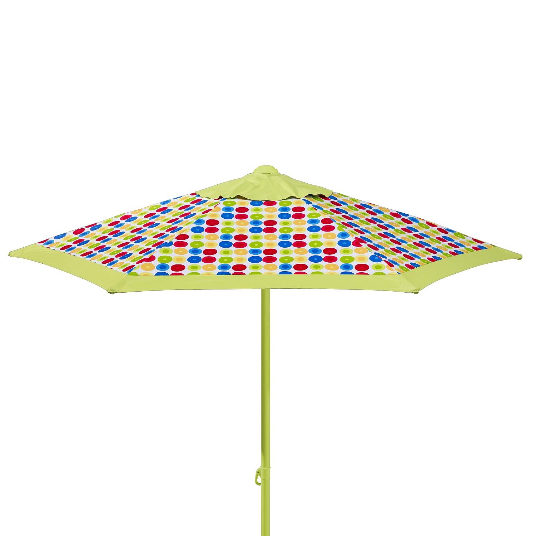 Sonnenschirm Puntito - Webstoff - Hellgrün, Schneider Schirme