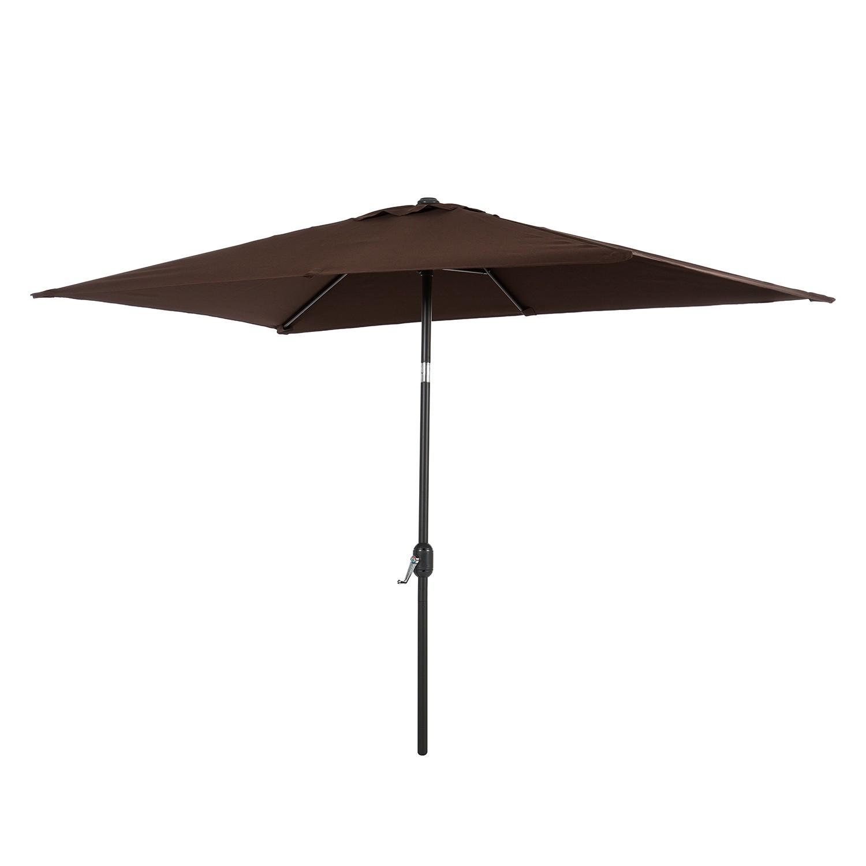 Parasol Solari - cappuccinokleurig - 150x265cm, mooved
