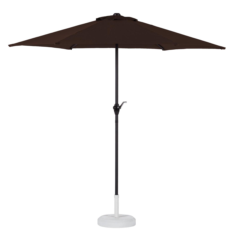 Sonnenschirm Sombrilla - Braun, mooved
