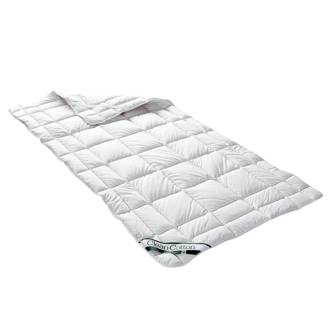 Spannauflage Clean Cotton - Baumwollfüllung - 160 x 200 cm, Badenia
