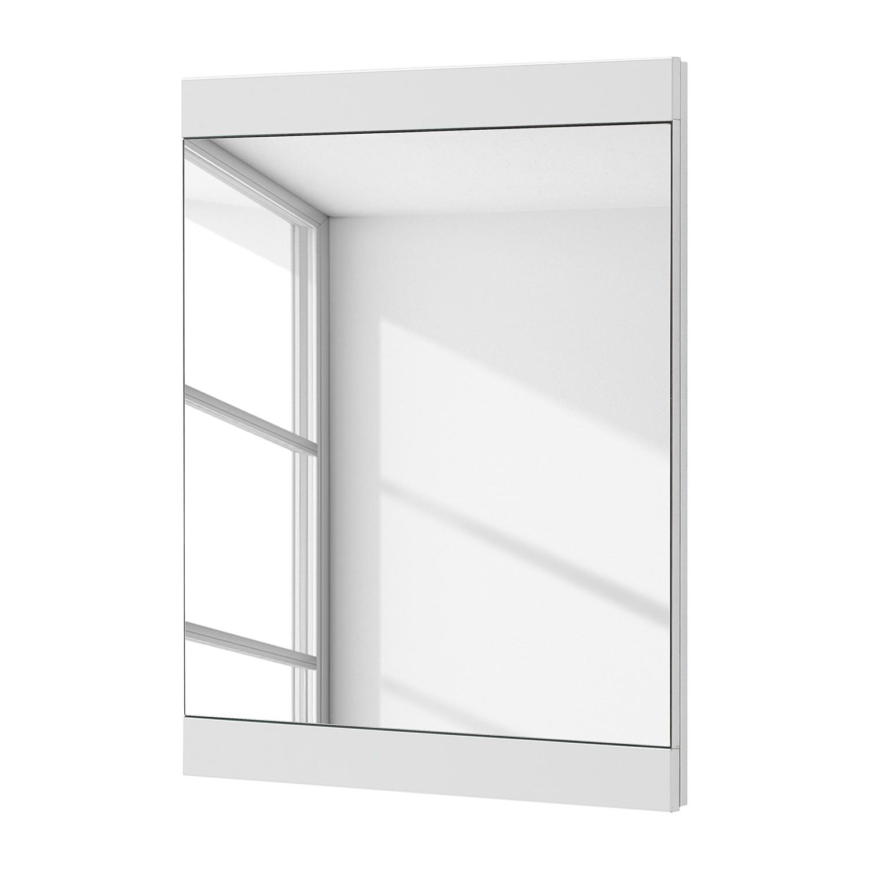 Spiegel Arco I - hoogglans wit, loftscape