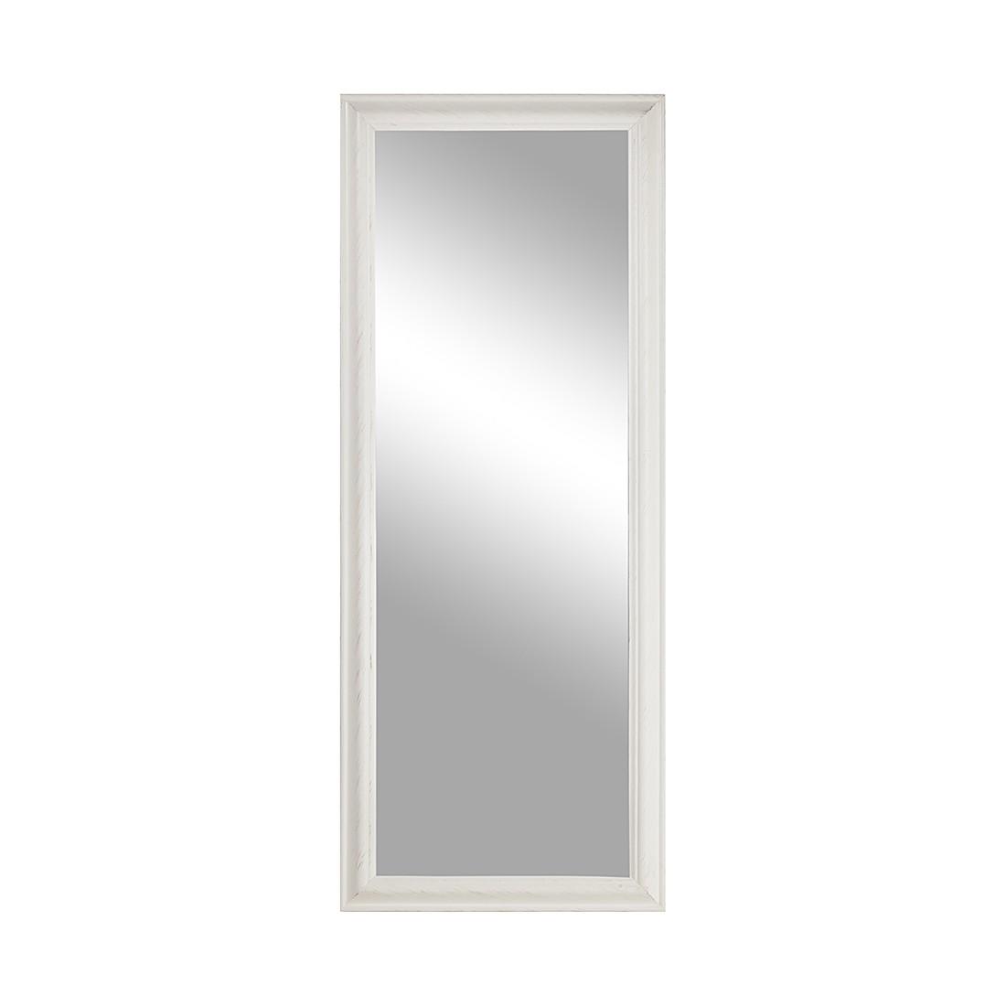 Miroir Belleville - mural Blanc Dimensions : largeur 62 cm ; hauteur 187 profondeur 7, Jack and Alic