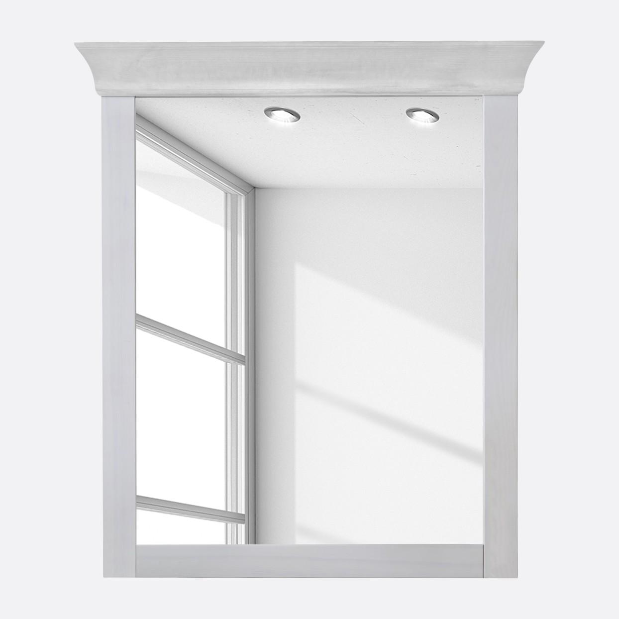 landhaus spiegel holz preisvergleich die besten angebote. Black Bedroom Furniture Sets. Home Design Ideas