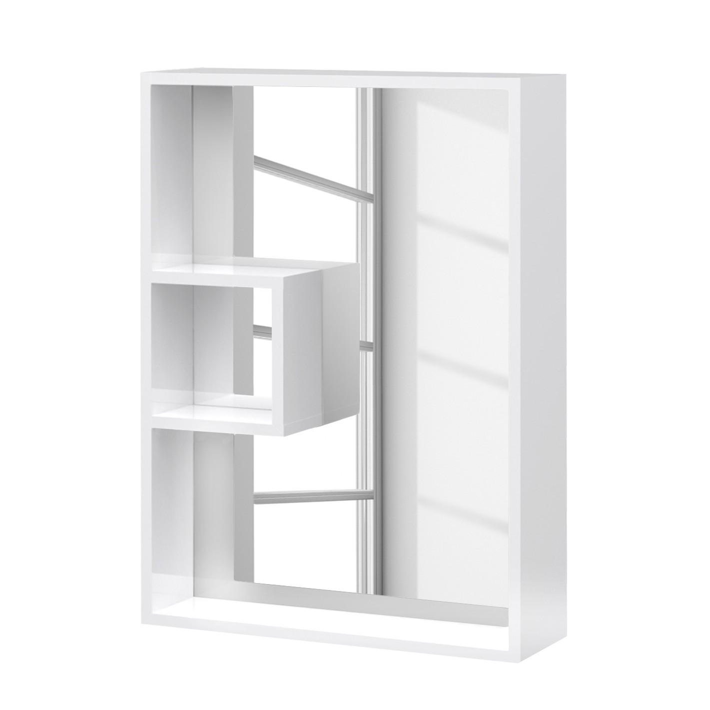 Spiegel Box - hoogglans wit, Schildmeyer