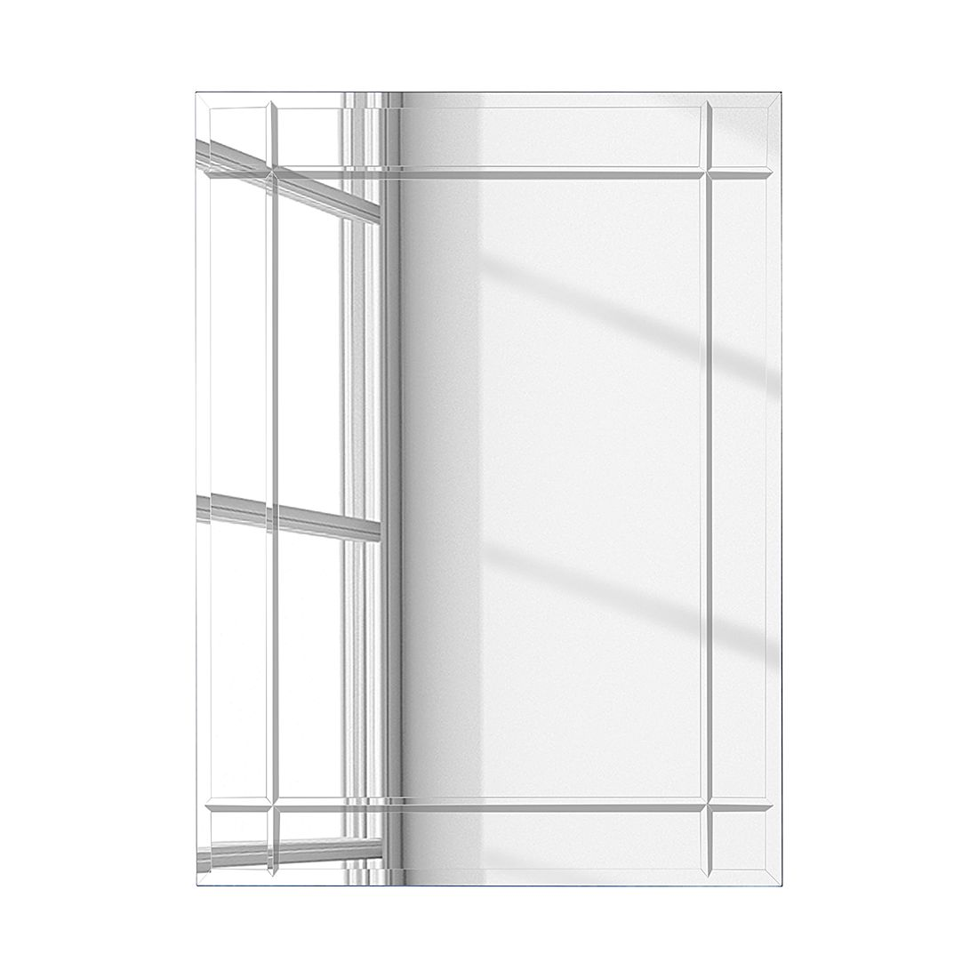 Miroir Brillar II - 70 x 90 cm, mooved