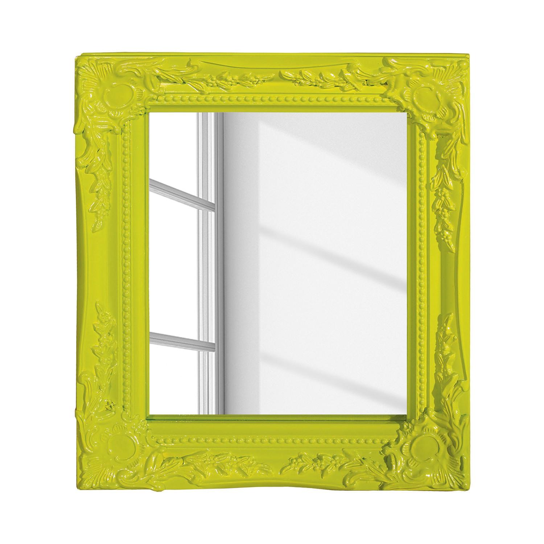 Specchio Edenburg - Verde - Cornice larga, My Flair