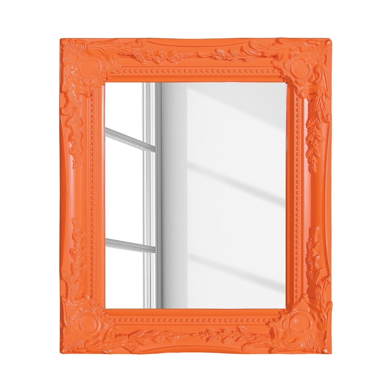 Specchio Edenburg - Arancione - Cornice larga, My Flair