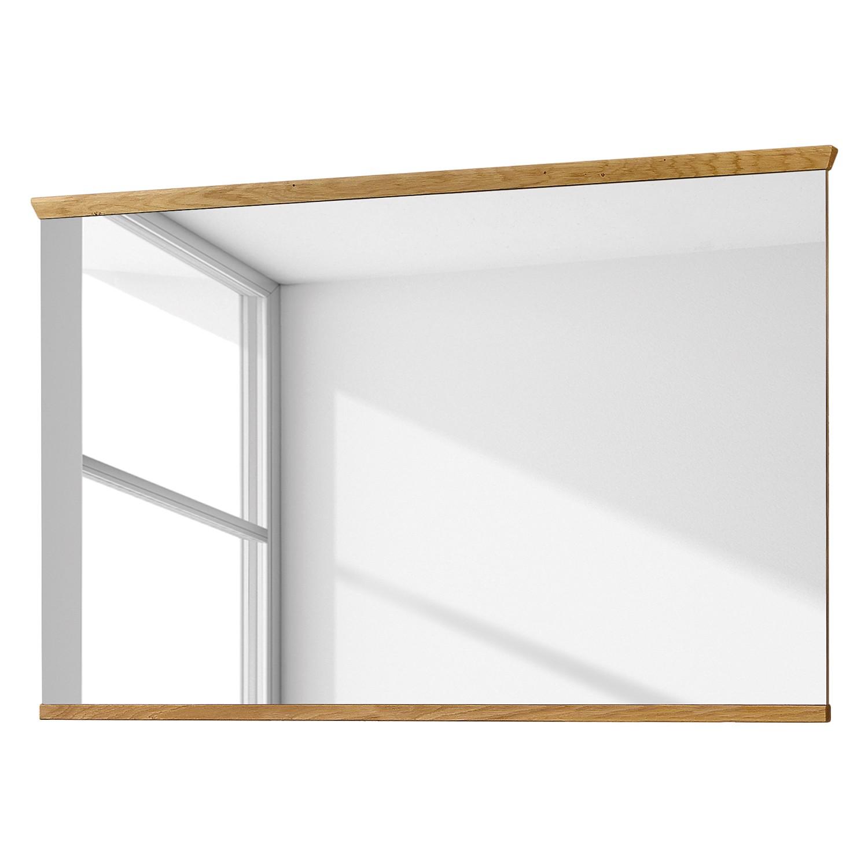 Spiegel Pablillo II - Bianco eikenhouten look - 126cm, Voss
