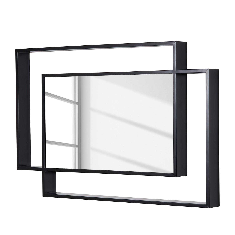 Spiegel Gemini - Zwart, Fredriks