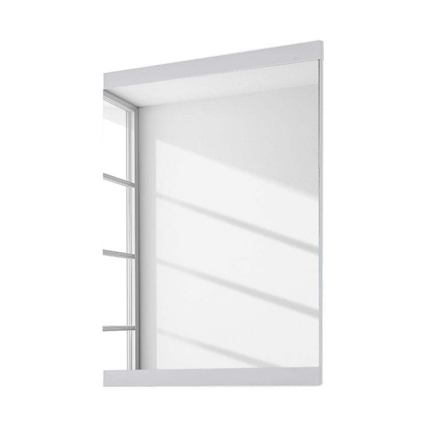 Miroir June I - Blanc brillant - 58 x 80 cm, Voss