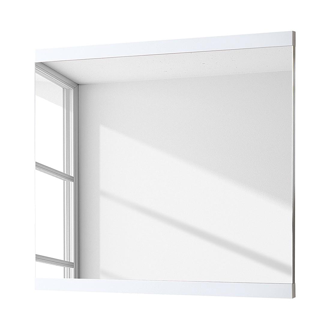 Miroir June II - Blanc brillant - 86 x 80 cm, Voss