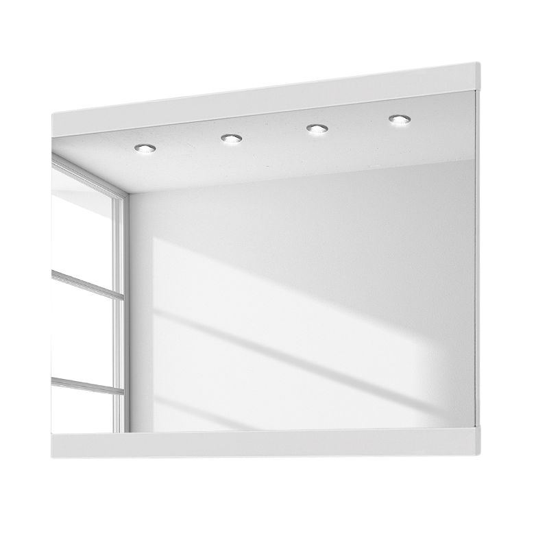 Miroir June IV - Blanc brillant - 82 x 61 cm, Voss