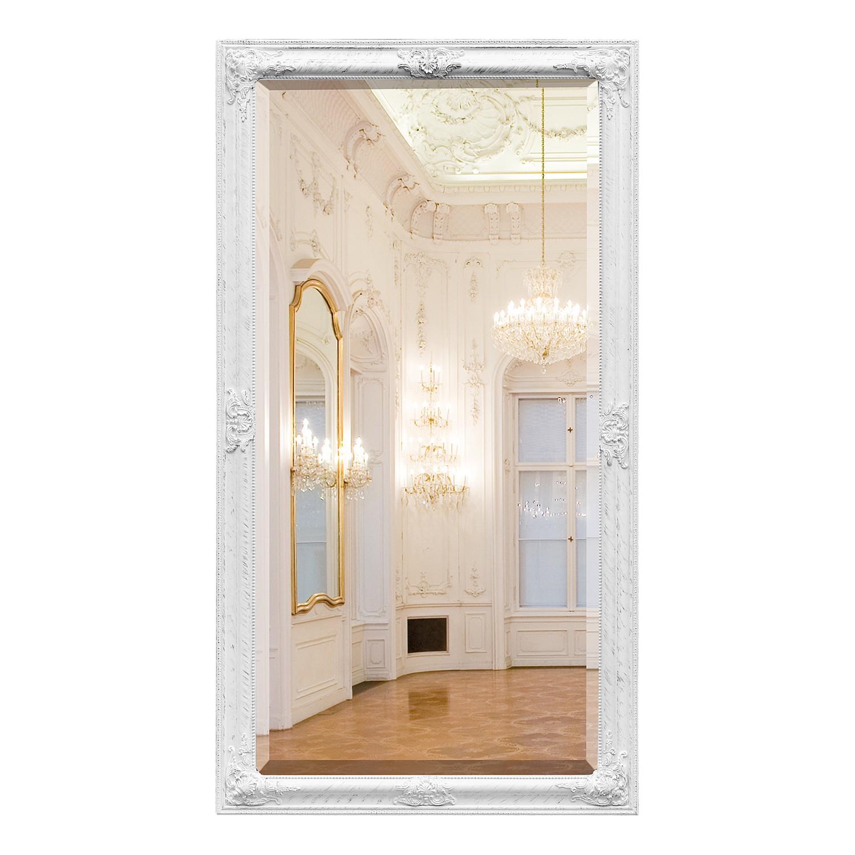 Spiegel Nuance - wit 132 cm, Havanna