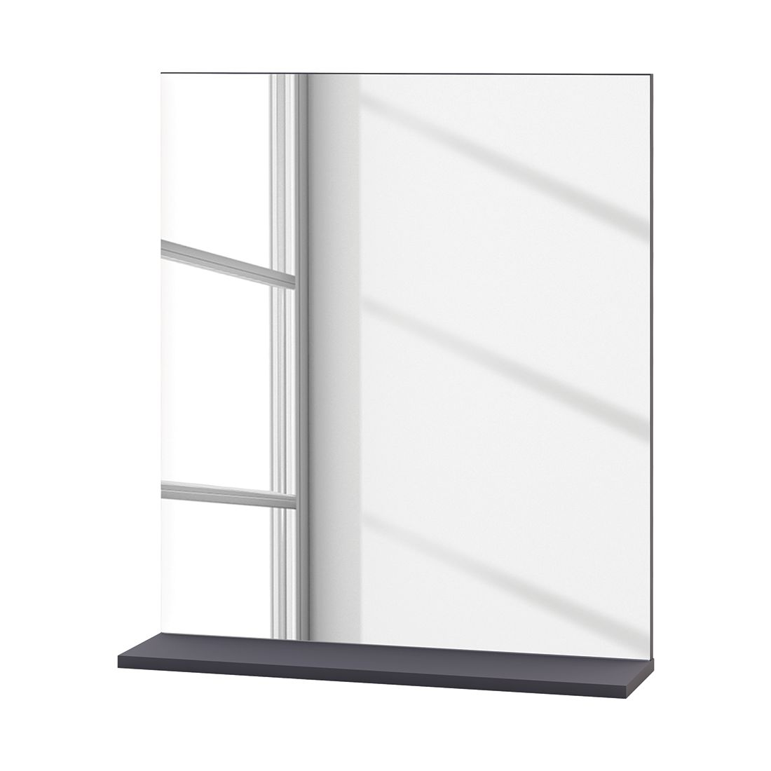 Spiegel   wit basaltkleurig_ California