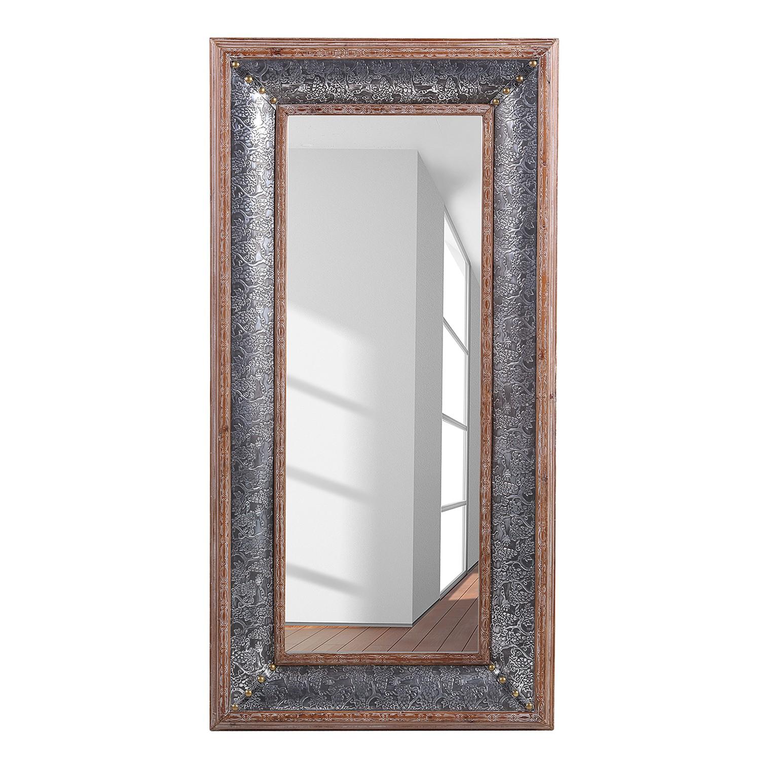 M bel spiegel yanbu tanne massiv aluminium tanne for Polir aluminium miroir