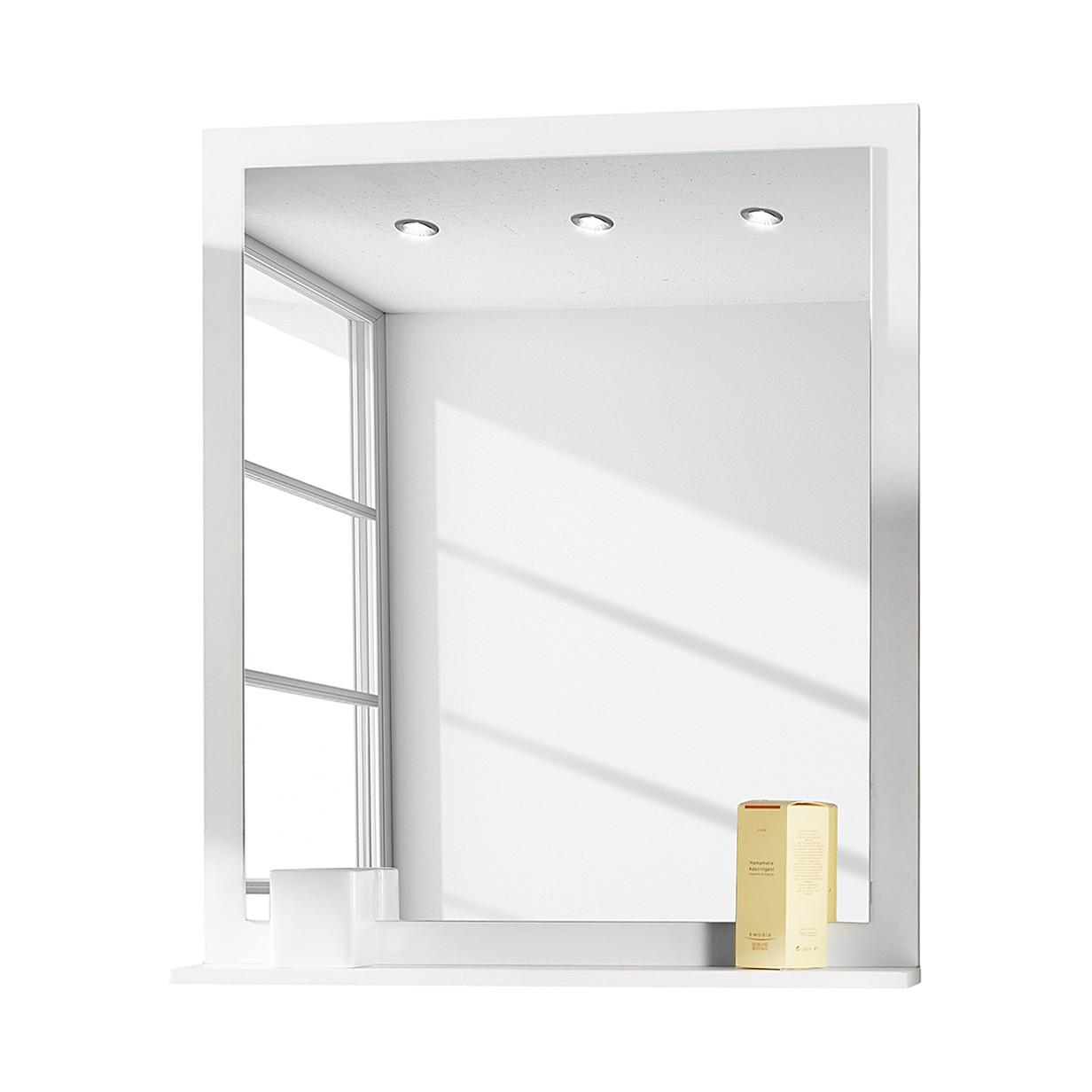 Spiegelpaneel Moncton   wit essenhouten look_ Schildmeyer