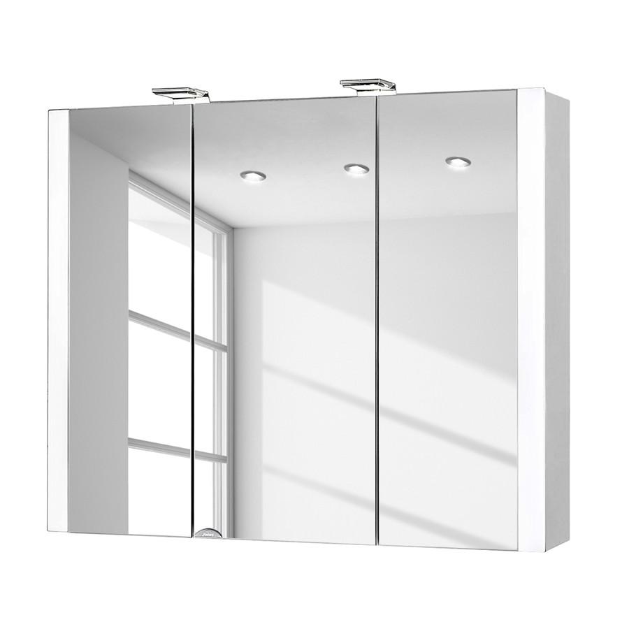 energia A++, Armadietto a specchio da bagno Jarvis (con illuminazione), Jokey