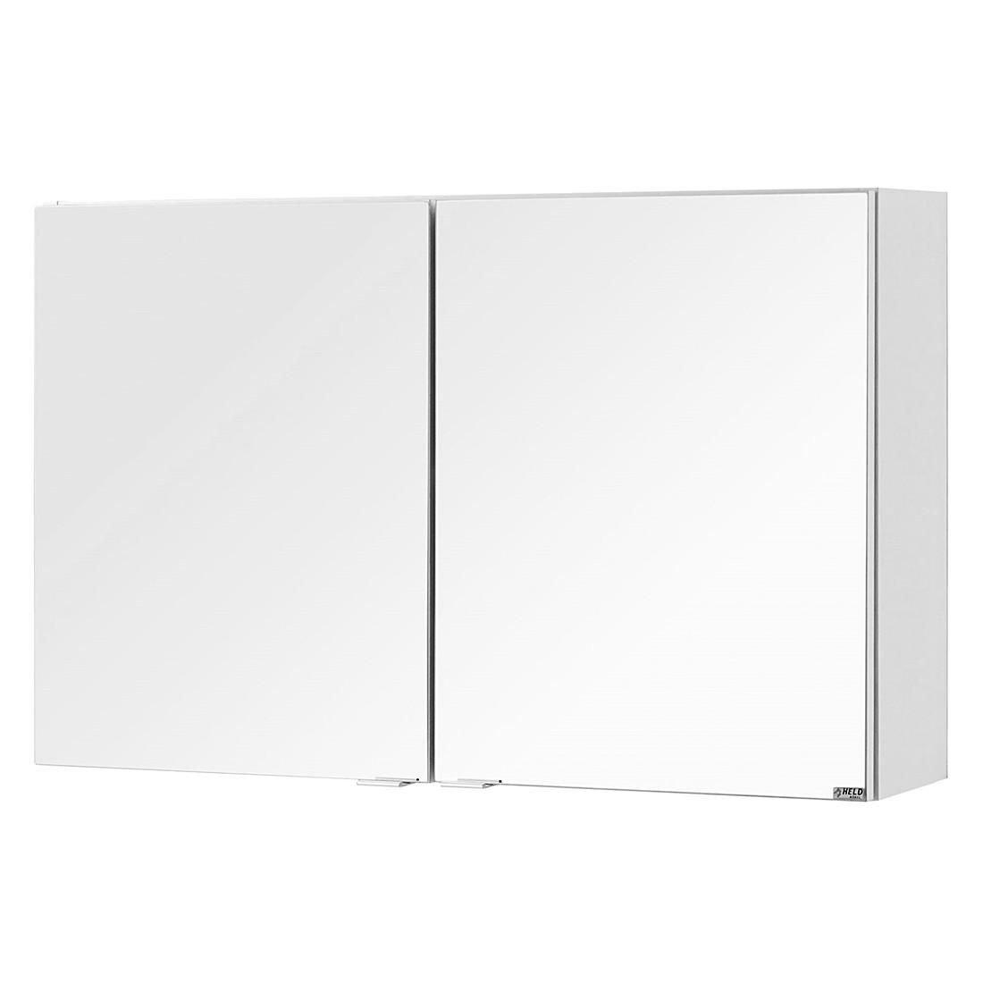 Armadietto a specchio Laris II - Bianco, Giessbach