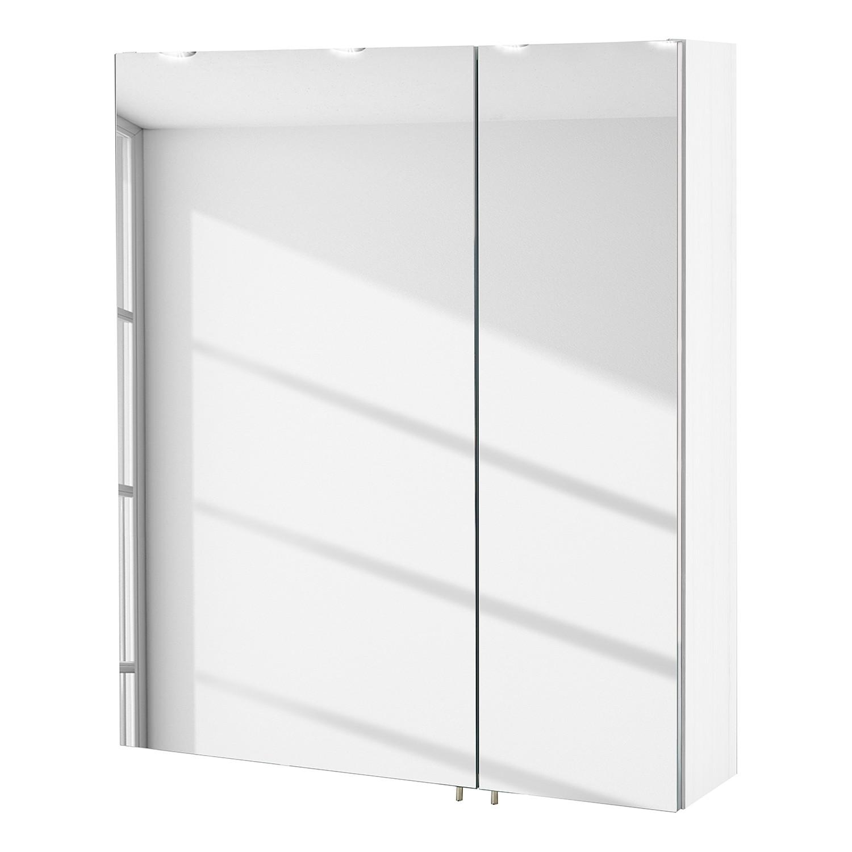 Armoire à miroir Lumo I - Blanc, Schildmeyer