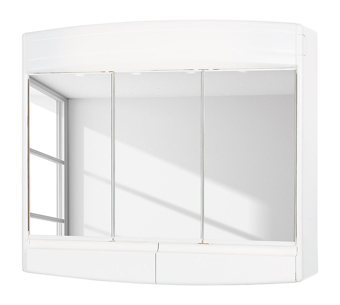 energia A+, Armadietto a specchio Topas ECO - Bianco, Sieper