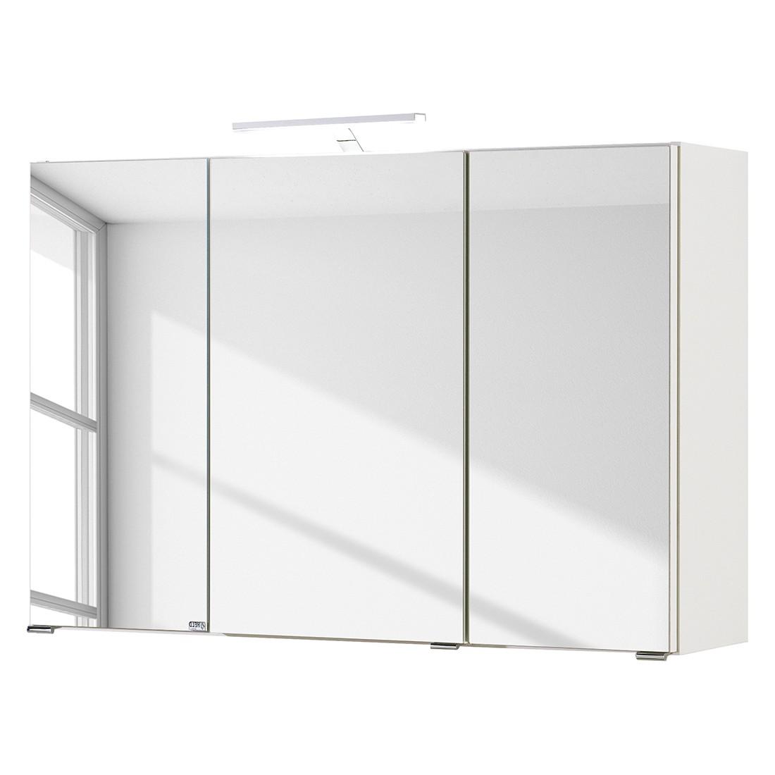 EEK A+, Armoire avec miroir Turda III - Avec éclairage Blanc, mooved