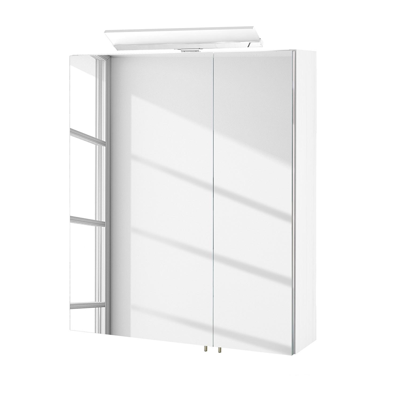 energie  A+_ Spiegelkast Venlo inclusief verlichting   hoogglans wit   60cm_ Schildmeyer