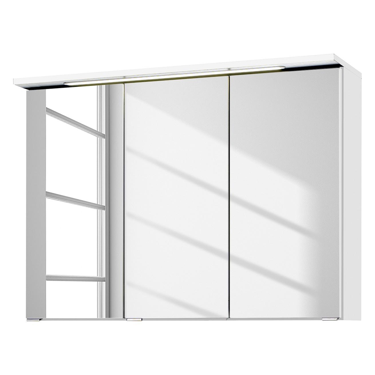 Armadietto a specchio Zeehan - Bianco - 90 cm, Fredriks