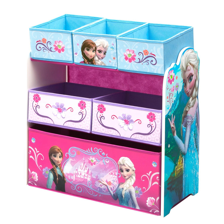 Home 24 - Etagère à jouets la reine des neiges, delta children