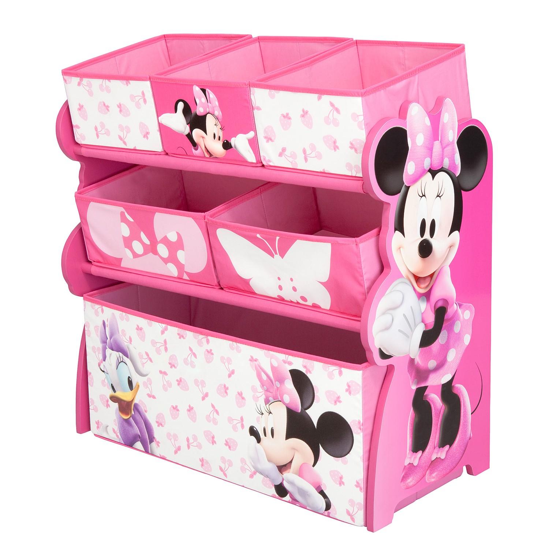 Spielzeugregal Minnie Mouse, Delta Children günstig kaufen