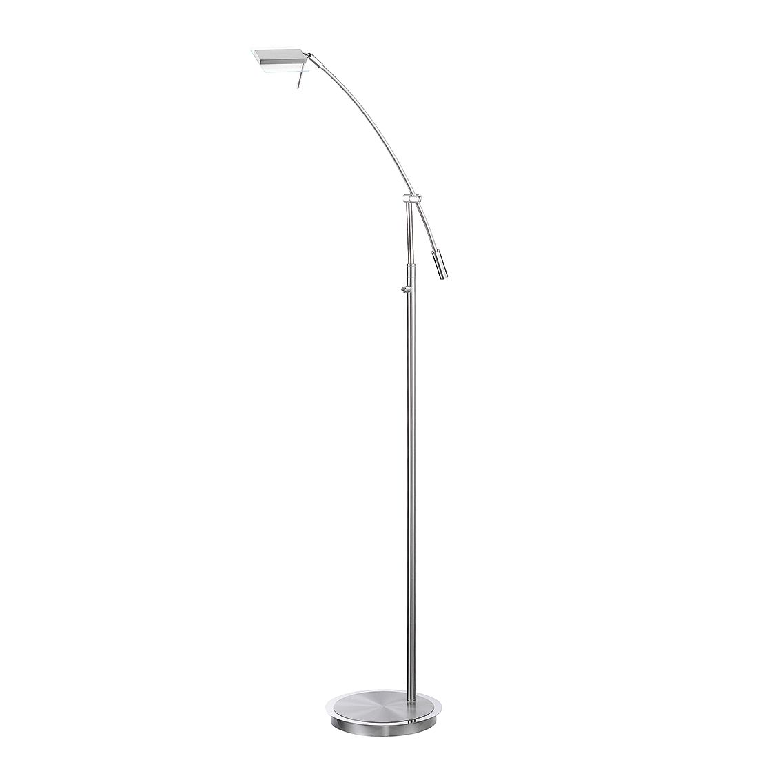 EEK A+, Lampe de table Kamminke - Nickel mat / Métal chromé 1 ampoule, Fischer Leuchten