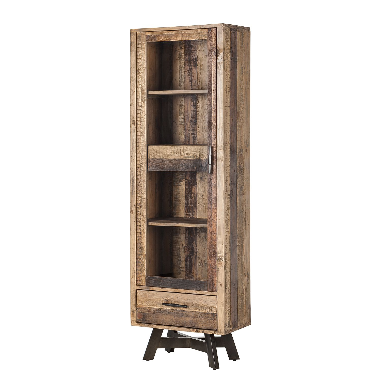 standvitrine tamati pinie massiv g nstig. Black Bedroom Furniture Sets. Home Design Ideas