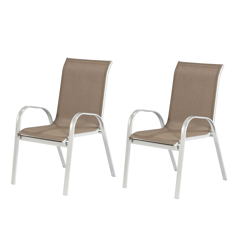 stapelsessel avellino ii 2er set stahl textilene merxx jetzt kaufen. Black Bedroom Furniture Sets. Home Design Ideas
