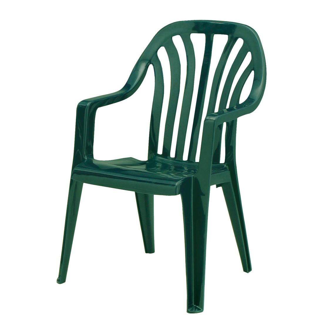 Stapelstuhl Laredo - Kunststoff - Grün, Best Freizeitmöbel