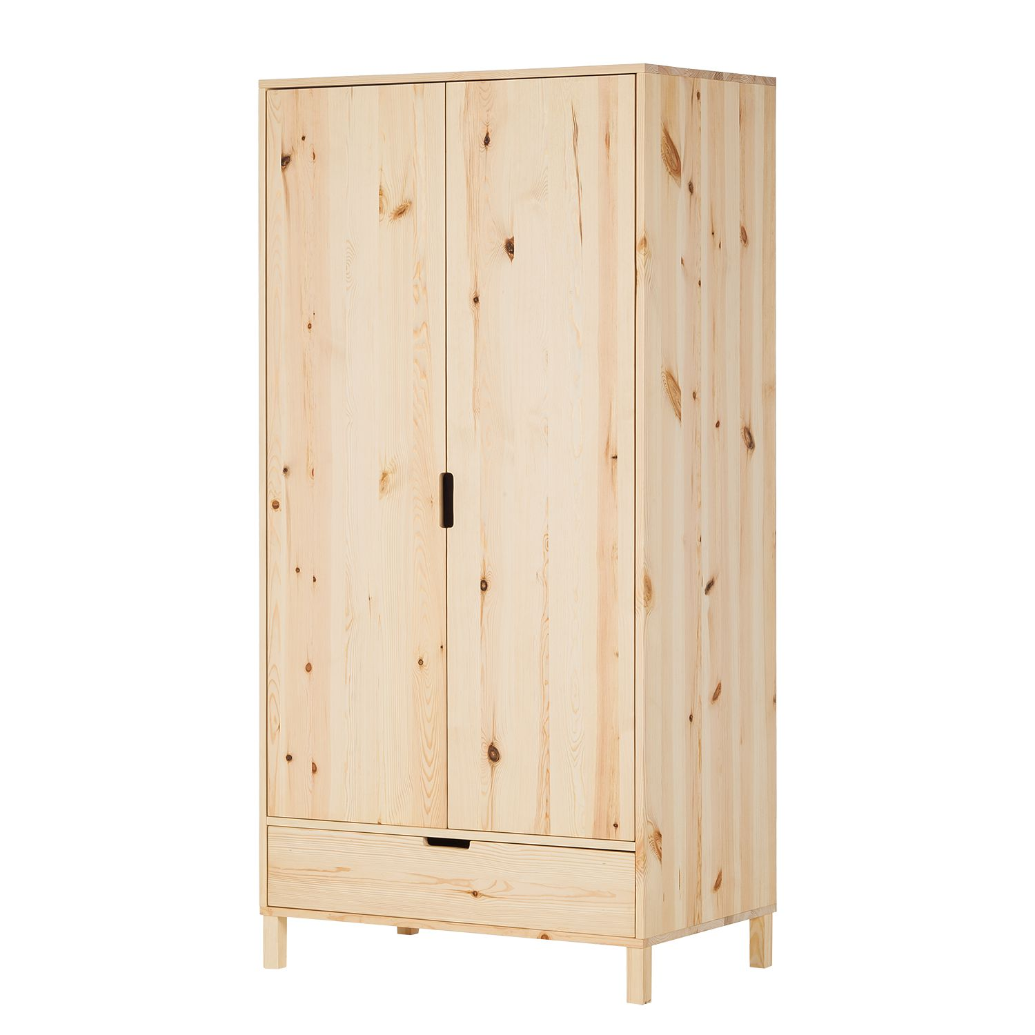 Armoire à vêtements KiYDOO wood - Pin massif, mooved
