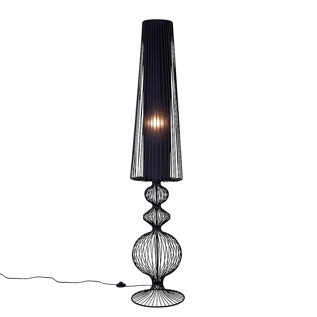 EEK A++, Lampadaire Swing Iron Uno - Fer noir, Kare Design