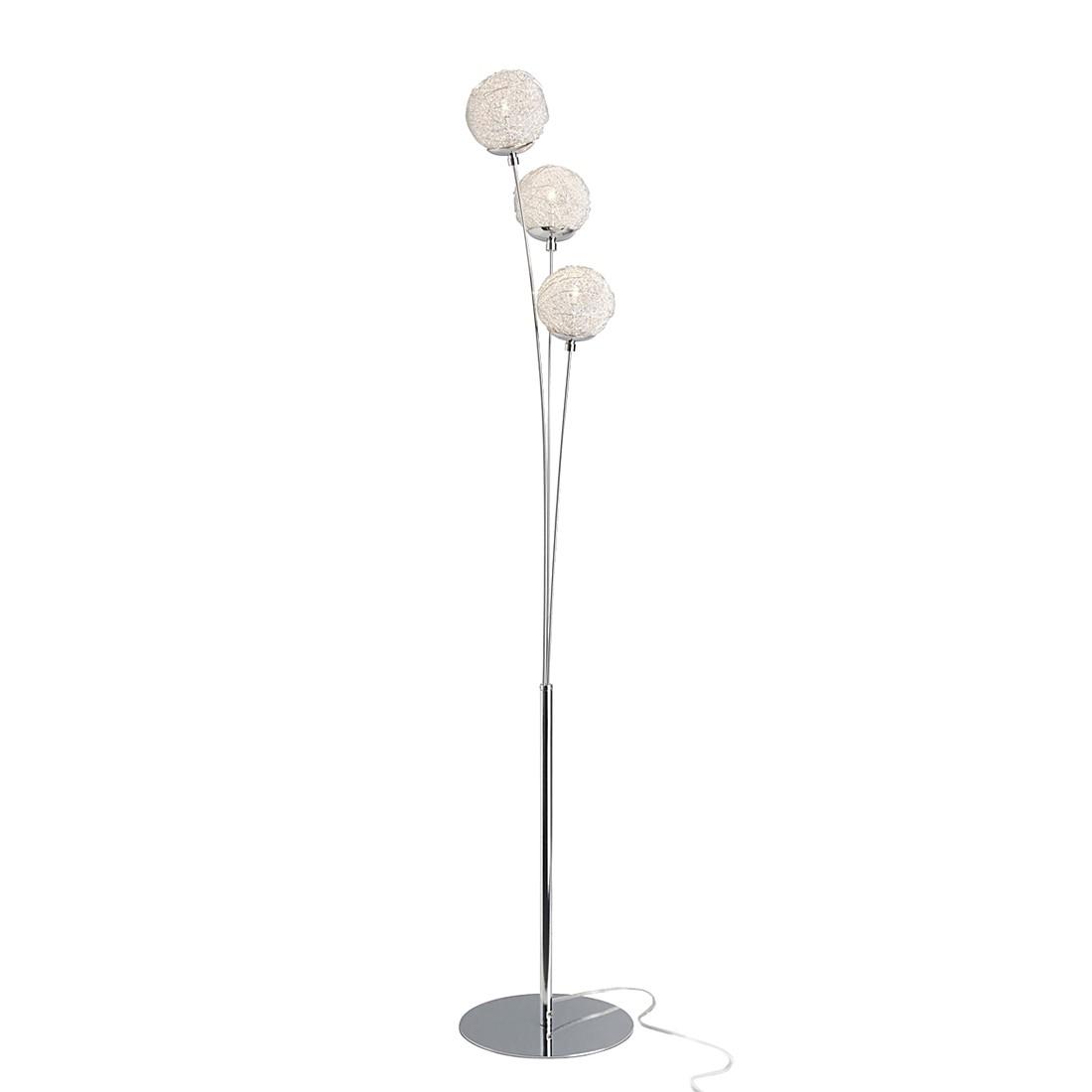 EEK A++, Lampadaire Lesley - 3 ampoules, Brilliant