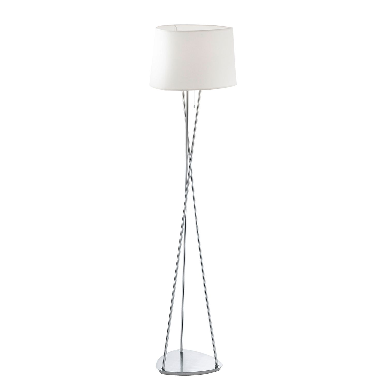 EEK A++, Lampadaire Belora - Tissu / Acier - 1 ampoule, Eglo