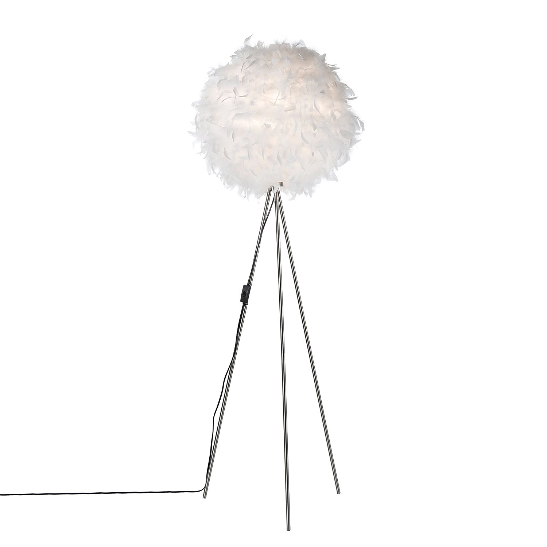 EEK A++, Lampadaire Ducky II - plume / papier - 1 ampoule, Nino Leuchten