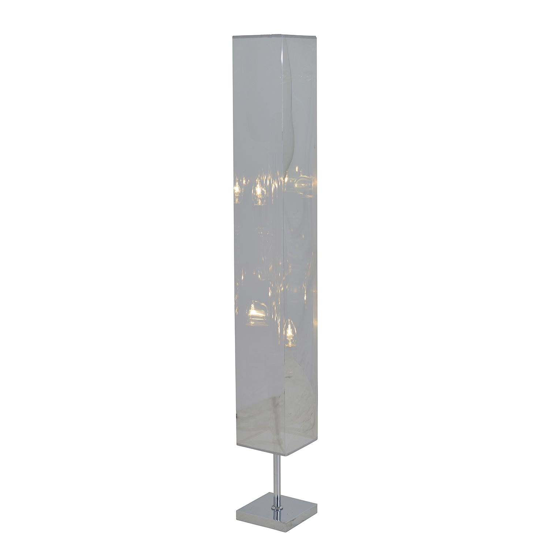EEK A++, Lampadaire Flame by Näve - Métal Argenté 2 ampoules, Näve