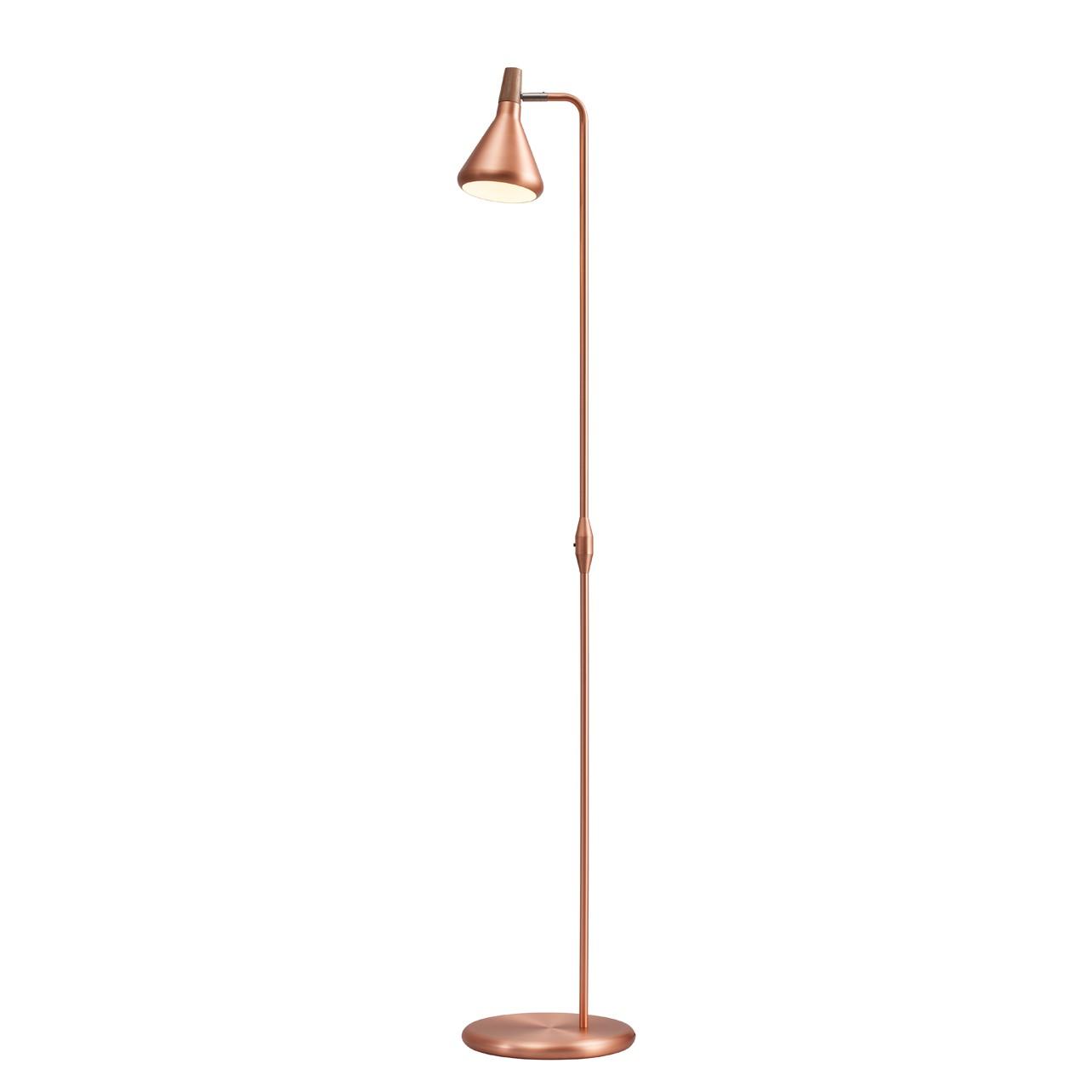 EEK A++, Lampadaire Float - Métal Cuivre 1 ampoule, Nordlux