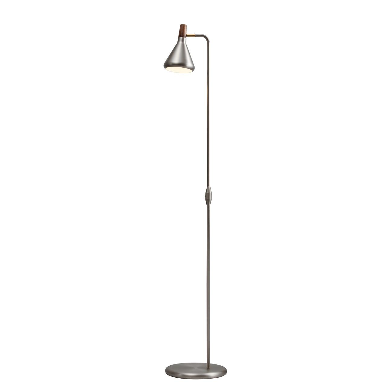 EEK A++, Lampadaire Float - Métal Argenté 1 ampoule, Nordlux